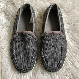Globe Slip on Herringbone Sneakers